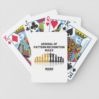 Arsenal Of Pattern Recognition Rules Inside Bicycle Playing Cards