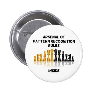 Arsenal Of Pattern Recognition Rules Inside 2 Inch Round Button