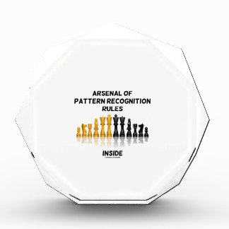 Arsenal Of Pattern Recognition Rules Inside Chess Acrylic Award