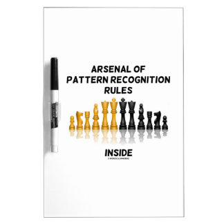 Arsenal Of Pattern Recognition Rules Inside Chess Dry Erase Whiteboards