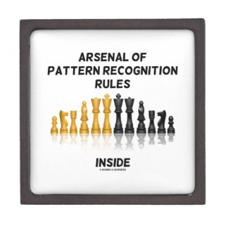 Arsenal Of Pattern Recognition Rules Inside Chess Gift Box