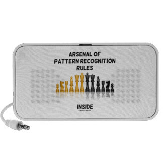 Arsenal Of Pattern Recognition Rules Inside Chess iPhone Speaker