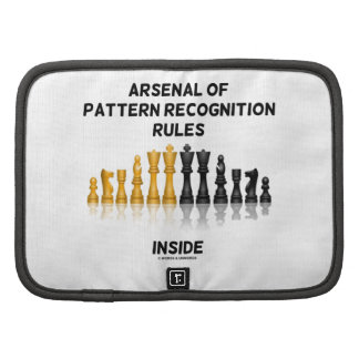 Arsenal Of Pattern Recognition Rules Inside Chess Organizer