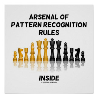 Arsenal Of Pattern Recognition Rules Inside Chess Poster