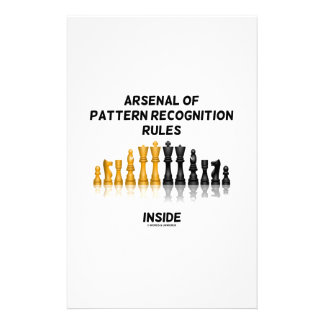 Arsenal Of Pattern Recognition Rules Inside Chess Stationery