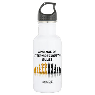 Arsenal Of Pattern Recognition Rules Inside Chess Water Bottle