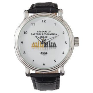 Arsenal Of Pattern Recognition Rules Inside Chess Wristwatches