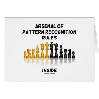 Arsenal Of Pattern Recognition Rules Inside Greeting Card