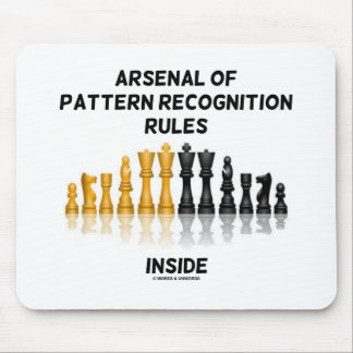 Arsenal Of Pattern Recognition Rules Inside Mouse Pad