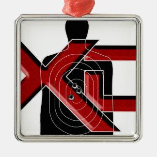 Arsenal XD de Springfield Adorno Navideño Cuadrado De Metal