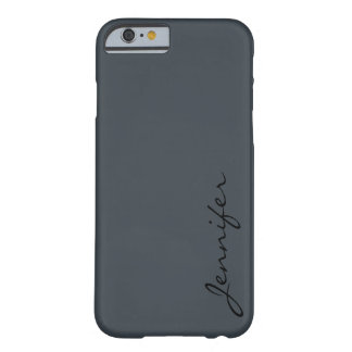 Arsenic color background barely there iPhone 6 case