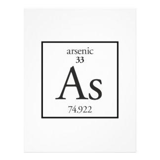 Arsenic Flyer Design