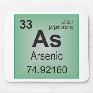 Arsenic Individual Element from Periodic Table Mouse Pad