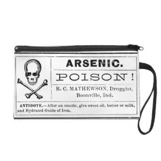 Arsenic POISON! Wristlet Purse