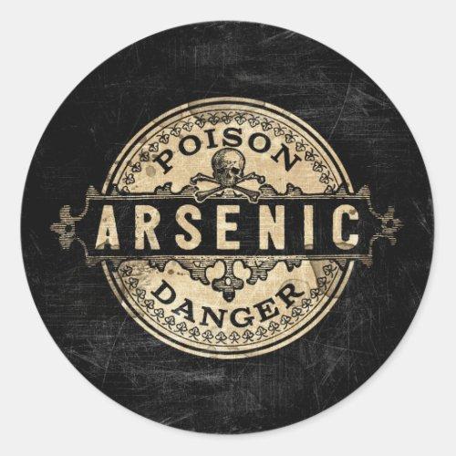 Arsenic Vintage Style Poison Label