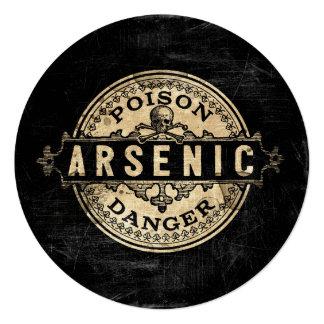 Arsenic Vintage Style Poison Label Card