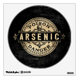 Arsenic Vintage Style Poison Label Wall Sticker