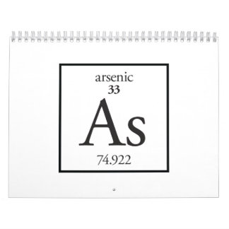 Arsénico Calendario