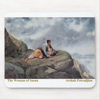 Arshak Fetvadjian, Woman of Sasun Mouse Pad