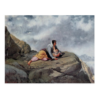 Arshak Fetvadjian, Woman of Sasun (Sasuntsi Kin) Postcard