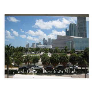 Arsht Center, Downtown Miami Post Card