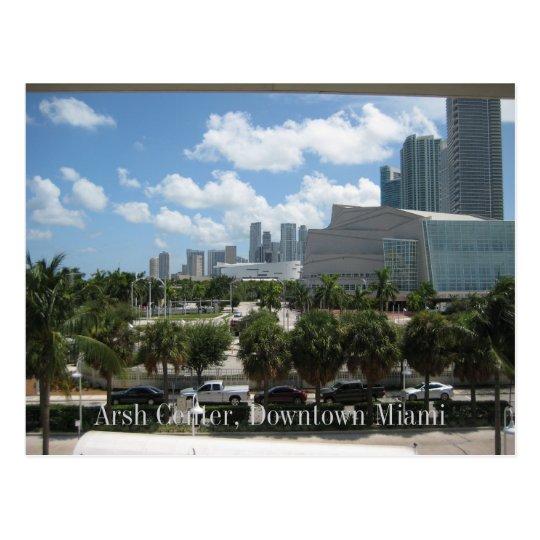 Arsht Center, Downtown Miami Post Card