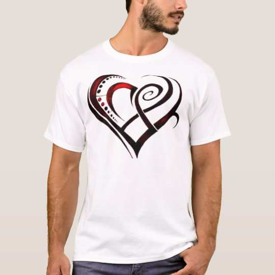 Arsty Mothers Day heart T-Shirt