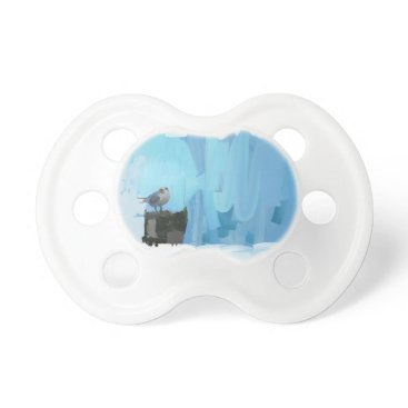 Beach Themed Arsty Unique Pacifier that Stands Out