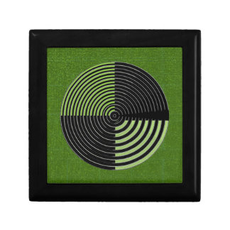 Art101 Artist Created Green Background Shades Jewelry Boxes
