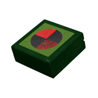 Art101 Artist Created Green Background Shades Gift Boxes