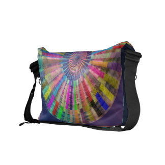 Art101 Basket Weave Folkart Bamboo Chakra Courier Bag