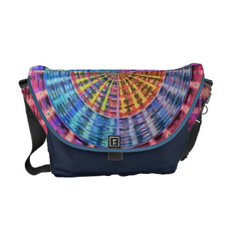 Art101 Basket Weave Folkart Bamboo Chakra Messenger Bag