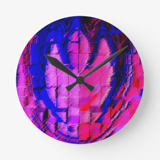 Art101 Bloody Peace Round Clock