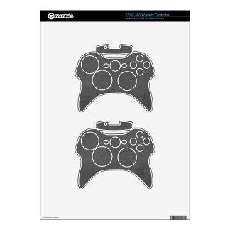 Art101 BNW circunda las muestras del texto de n -  Mando Xbox 360 Skins