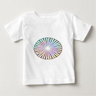 ART101 Fashion : CHAKRA Blue Pink Round and Ovals Baby T-Shirt
