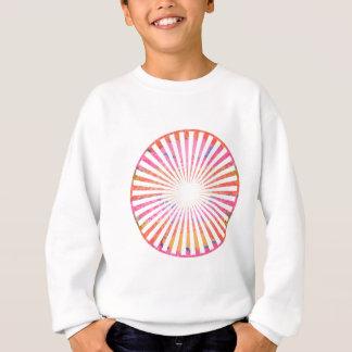 ART101 Fashion : CHAKRA Blue Pink Round and Ovals Sweatshirt
