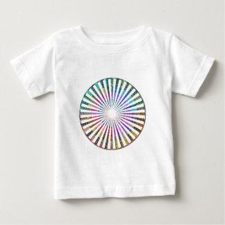 ART101 Fashion : CHAKRA Blue Pink Round and Ovals T-shirts