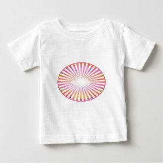 ART101 Fashion : CHAKRA Blue Pink Round and Ovals Tee Shirts
