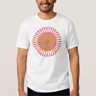 ART101 Fashion : CHAKRA Live Warm Cross Check 2 Tshirt
