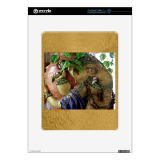 ART101 Ganesha with Holy Water KALASHA iPad Decal