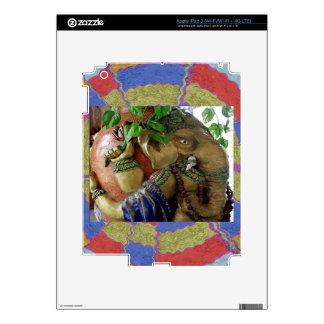 ART101 Ganesha with Holy Water KALASHA Skins For iPad 3