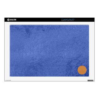 Art101 Gold Seal - Blue Berry Satin Silk Blanks Laptop Decal