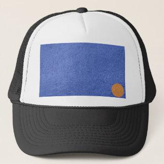 Art101 Gold Seal - Blue Berry Satin Silk Blanks Trucker Hat