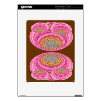 Art101 GoldSeal - Flying Wheels UFO design Decals For iPad