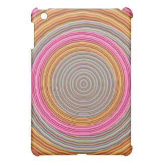 Art101 Grand Warm Color - SilkSatin Circles Cover For The iPad Mini