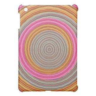 Art101 Grand Warm Color - SilkSatin Circles iPad Mini Covers