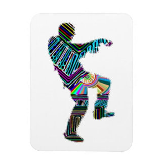 Art101 Halloween Zombie Rectangular Magnet