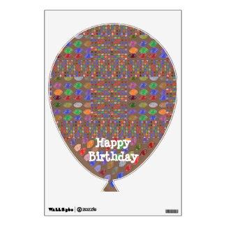 Art101 Happy Birthday Sparkle - Gems n Diamonds Wall Sticker