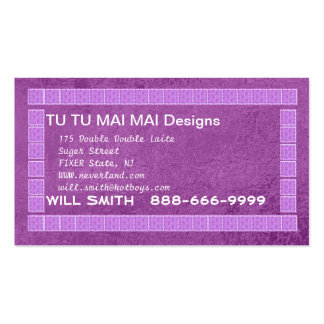 ART101 Intricate Borders - click to enlarge view Business Card