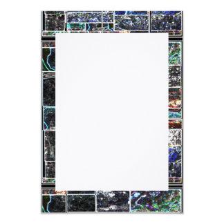 ART101 KOOLshade Wave LINEN : customize to yr size Card